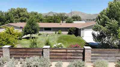 Carson City Single Family Home For Sale: 4129 North View Drive