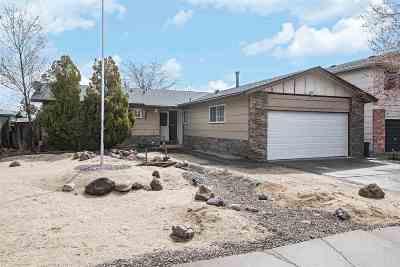 Reno NV Single Family Home Back On Market: $319,000
