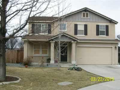 Sparks Single Family Home New: 4919 Diana Circle