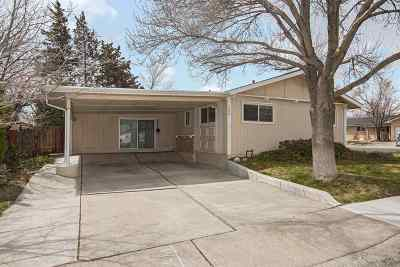 Reno Single Family Home New: 2890 Judith