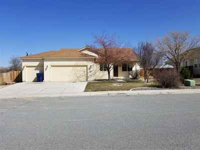 Fernley Single Family Home Active/Pending-Loan: 1327 Winnie's Lane
