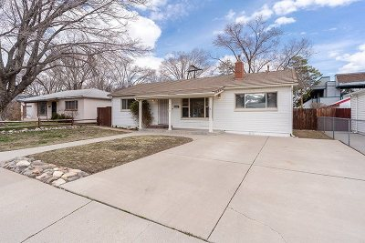 Carson City Single Family Home Active/Pending-Loan: 1823 N Nevada Street