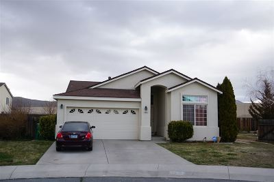 Carson City Single Family Home Active/Pending-Loan: 2800 Foxhill Drive