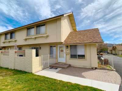 Carson City Condo/Townhouse Active/Pending-Loan: 11 Condor Circle