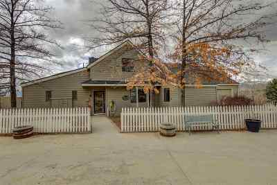 Carson City Single Family Home Active/Pending-Call: 5180 S Gentry Ln