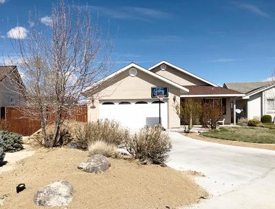 Fernley Single Family Home For Sale: 1602 Lou Ct