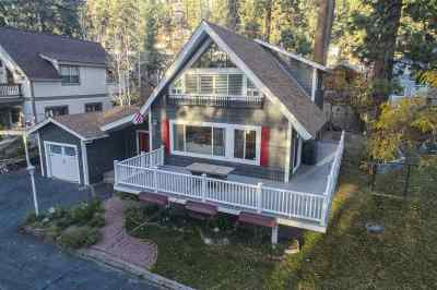 Zephyr Cove Single Family Home Active/Pending-Loan: 605 Freel Drive