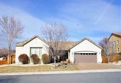 Sparks Single Family Home For Sale: 2634 Roseto Circle