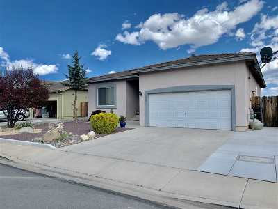 Sparks Single Family Home For Sale: 3420 Cityview Terrace
