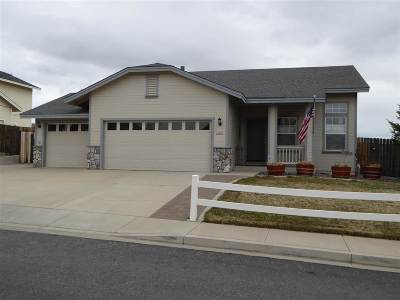 Washoe County Single Family Home Active/Pending-Loan: 4010 White Rock Ct