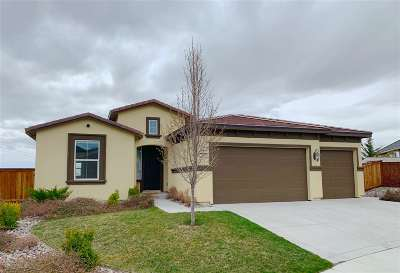 Sparks Single Family Home Active/Pending-Loan: 2170 Isabella Ct