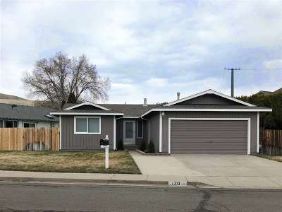 Carson City Single Family Home Active/Pending-Loan: 120 Dyer