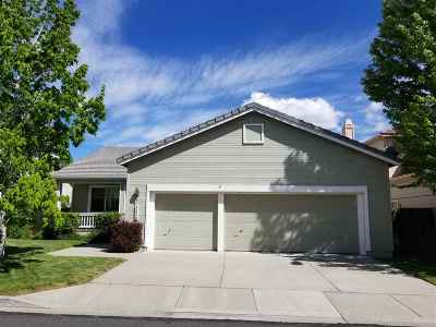 Reno Single Family Home Back On Market: 3090 Creekwood Drive