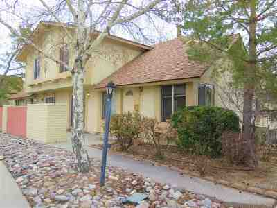 Carson City Condo/Townhouse Auction: 3916 Pheasant Drive