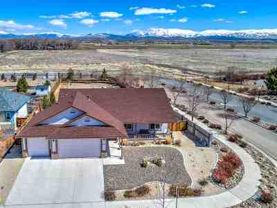 Gardnerville Single Family Home Active/Pending-Call: 1361 Stodick Ln
