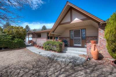 Carson City Single Family Home Extended: 3160 Ash Canyon Road