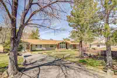Carson City Single Family Home Active/Pending-Call: 4040 County Line Rd