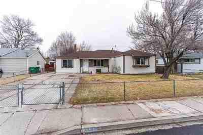 Sparks Single Family Home Active/Pending-Loan: 320 Greenbrae Drive