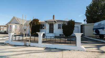 Winnemucca Single Family Home Auction: 33 W Haskell