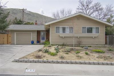 Carson City Single Family Home Active/Pending-Call: 760 Crain Street