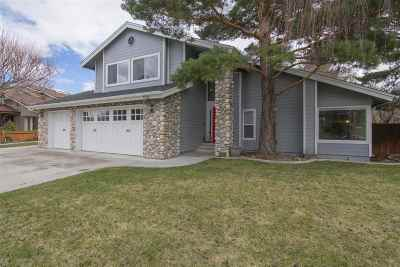 Carson City Single Family Home Active/Pending-Call: 1725 Chaise Drive