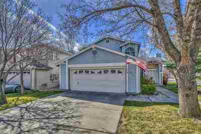 Washoe County Single Family Home Active/Pending-Loan: 860 Swaledale Dr