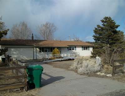 Reno Single Family Home For Sale: 11585 Overland Rd.