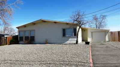 Reno Single Family Home Active/Pending-Loan: 13550 Mount Whitney