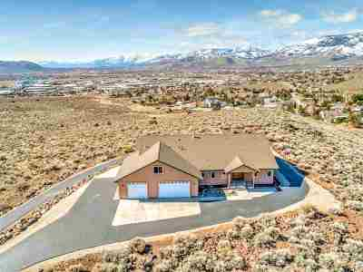 Carson City Single Family Home Active/Pending-Call: 2650 Merrill