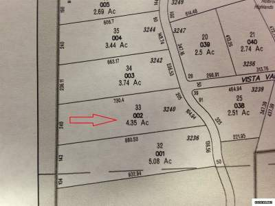 Gardnerville Residential Lots & Land Active/Pending-Call: 3240 Highland Way