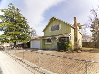 Reno Single Family Home For Sale: 2270 Mannington Ave.