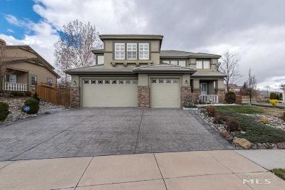 Sparks Single Family Home For Sale: 6349 Bonita