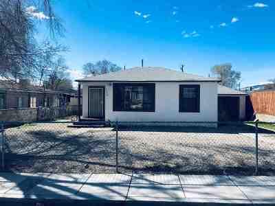 Reno Single Family Home Active/Pending-Loan: 1230 E 10th