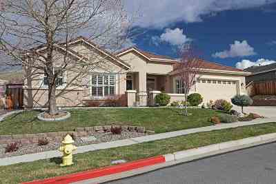 Sparks Single Family Home Active/Pending-House: 5890 Solstice Drive