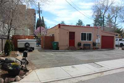 Reno Single Family Home For Sale: 1214 W 1st