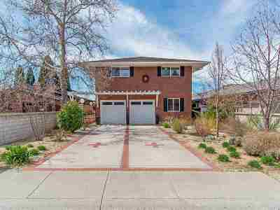 Reno Single Family Home For Sale: 1435 Palisade Drive