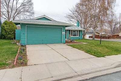 Carson City Single Family Home Price Reduced: 2490 Brentwood Drive