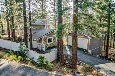Incline Village Single Family Home For Sale: 645 Woodridge Cir