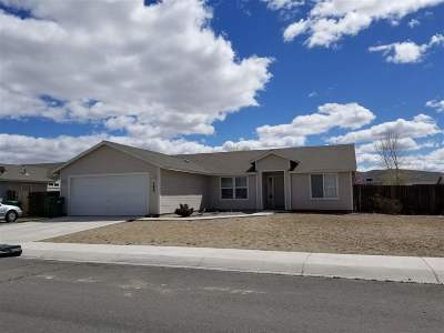 Fernley Single Family Home Active/Pending-Loan: 145 Prairie