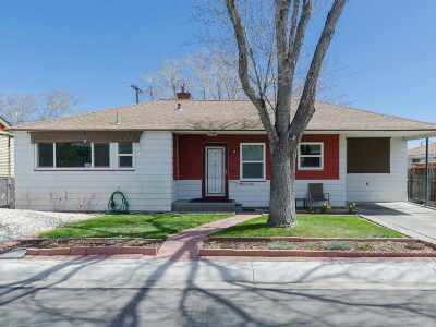 Reno Single Family Home For Sale: 1694 Ordway Avenue