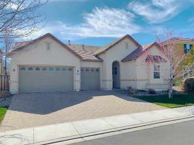 Reno Single Family Home For Sale: 11430 Cervino