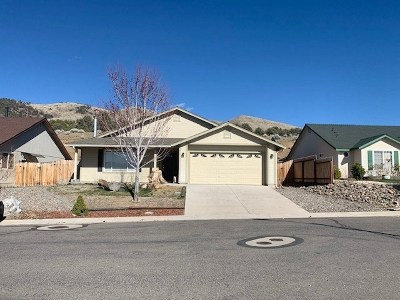 Gardnerville Single Family Home Active/Pending-Loan: 66 Conner Way