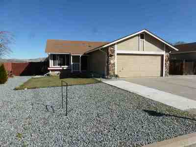 Sparks Single Family Home Active/Pending-Loan: 6700 Canoe Hill Drive