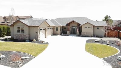 Gardnerville Single Family Home Price Reduced: 1023 Rocky Terrace Drive