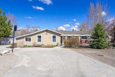 Gardnerville Single Family Home Active/Pending-Loan: 1364 Topaz Lane