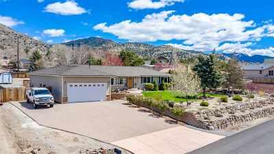 Reno Single Family Home Active/Pending-Loan: 13890 Cochise Drive
