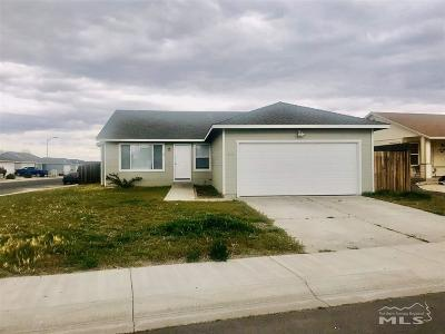 Fernley Single Family Home For Sale: 125 Relief Springs Rd
