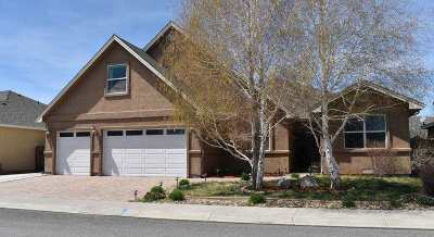 Carson City Single Family Home For Sale: 1722 Dogleg Rd.