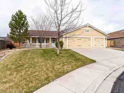 Sparks Single Family Home New: 2295 Gorget