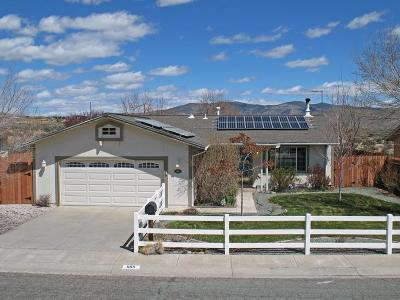 Carson City Single Family Home Active/Pending-Call: 889 Amador Circle